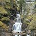 Der Kuhflucht-Wasserfall am Beginn der Tour.