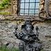 Indische Figuren im Innenhof