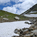 La neve ricopre il sentiero