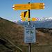 La partenza del sentiero che scende in Val d'Intelvi