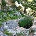 Wasserloch im Aufstieg zum La Rocca