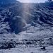 der Gletscher wird an der flache Stelle gequert