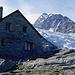 Bordierhütte mit Riedgletscher