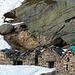 Le cascine dell'Alpe d'Orgnana.