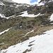 Arrivo allo splugo dell'alpe Spluga