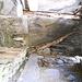 Interno dello splugo dell'alpe Spluga