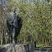 In Мiнск / Minsk - Im Janka-Kupala-Park, Парк Янкі Купалы, befindet sich natürlich auch eine Statue des belarussischen Nationaldichters.