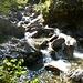 Im Val Casenda - Flussüberquerung ohne Brücke