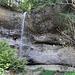 schöner Wasserfall im Fuchsloch