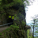 Warntafeln beim Felsenweg