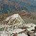 Meine Aufstiegsroute, mit dem Jegihorn 3206m im Hintergrund.
