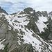 Von links Pizzo di Porcaresc, P.2562, Pizzo dell' Alpe Gelato