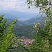 Panorama verso Nord dalla cima del Monte Legnone.