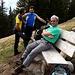 Sosta al rifugio alpe Martum