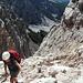 Zustieg vom Val Padeon zur Feratta Ivano Dibona
