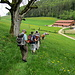 Über die Wiese nach Petit Brunchenal