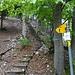 ... welcher gut ausgebaut bis zum weglosen Weitergang auf 1030 m.ü.M. (Le Belvédère 1020 m) führt
