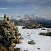 Unendliche Ruhe auf dem Gipfel
