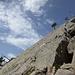 Letzter Gipfel: Schon noch spitz, die Spitzi Flue. Ohne Seil muss man schon wissen, was man tut