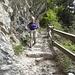 Abstieg vom Fadära-Stein