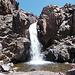 noch sorgt das Schmelzwasser für Wasserfälle