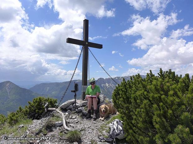 """Den Seeleiten-Gipfel haben wir auch noch beim Abstieg """"mitgenommen"""""""