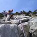 Klettriger Alpin_Rise geniesst den Kalk