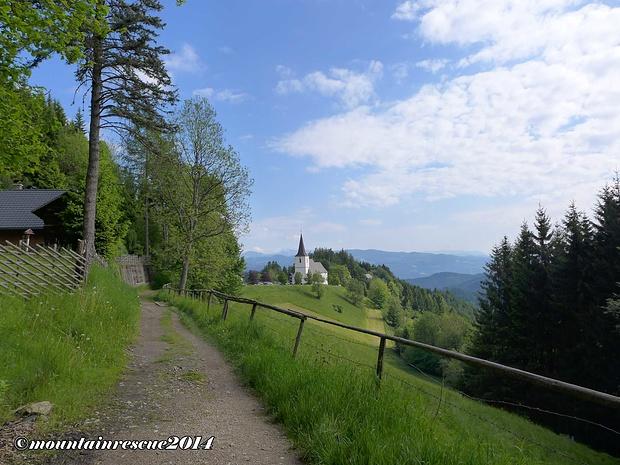 Start und Zielpunkt: Wallfahrtskirche Frauenberg