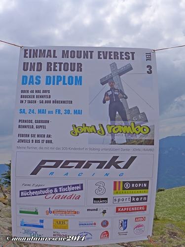 50.000 Höhenmeter in sieben Tagen - Respekt für so ein Vorhaben!