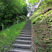 die Stairway zur Gesslerburg, es gibt auch einen Weg ohne Stufen