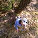 Sehr steil kann's im Oberland sein – Sglider im Aufstieg über einen Sporn der Roten Südwand
