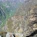 Alpe della Bèdu vista salendo al Corte di Mezzo dell'Alpe Paraula