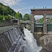 In der Talenge von Töll wird das Wasser für das Etsch-Kraftwerk und den Marlingerwaal gestaut.