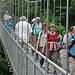 Zum Abschluss eine solid konstruierte Hängebrücke