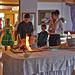 Kulinarischer Höhepunkt im Hotel Lamm: die flambierte römische Keule.