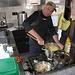Gianluigi prepara la polenta