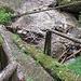 die altersschwache Brücke ...