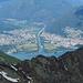 Sicht in Richtung der Maggia, mit Ascona und Locarno.