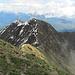Blick vom Monte Tamaro, zurück auf die gesamte Kette.