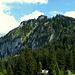 Der anspruchsvollste Gipfel im Wandergebiet von Schuttannen.