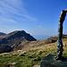 il monte Marmagna,visto dal monte Orsaro...