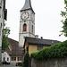Kirche St. Martin mit dem Museo Retico - dort wird die Geschichte Graubündens präsentiert