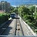 Den ersten Aufschwung mit der Bahn bis Orselina, Madonna del Sasso. Die Bahn fährt alle 15 Minuten.