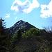 Blick zum Tagesziel, dem Monte Tamaro