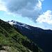 Blick zum Monte Gradiccioli - mit noch reichlich Schnee