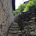 ... und dann die Stufen wieder hinauf
