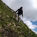 Judith7 im Abstieg vom Hochstarzel.