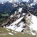 Unspitze<br />So steil sieht der Abstieg doch nicht aus..