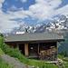 Unser Zuhause für eine Woche: Alphütte auf der Weritzalp