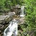 Wasserfälle des Jedlová-Baches in der Jedlový Důl